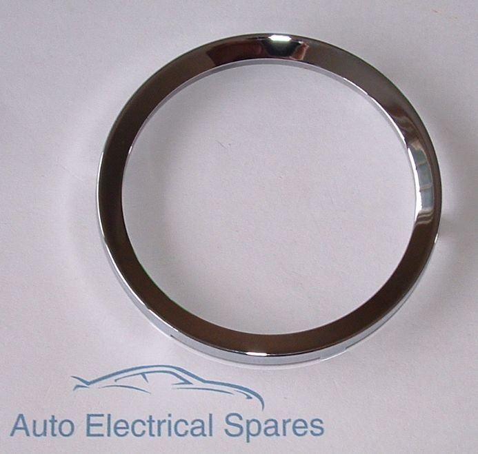 "010104 CLASSIC CAR CHROME BEZEL 3.5"" 80mm half V profile"